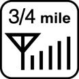 3/4-Mile Range