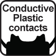 Conductive Plastic Contact Points