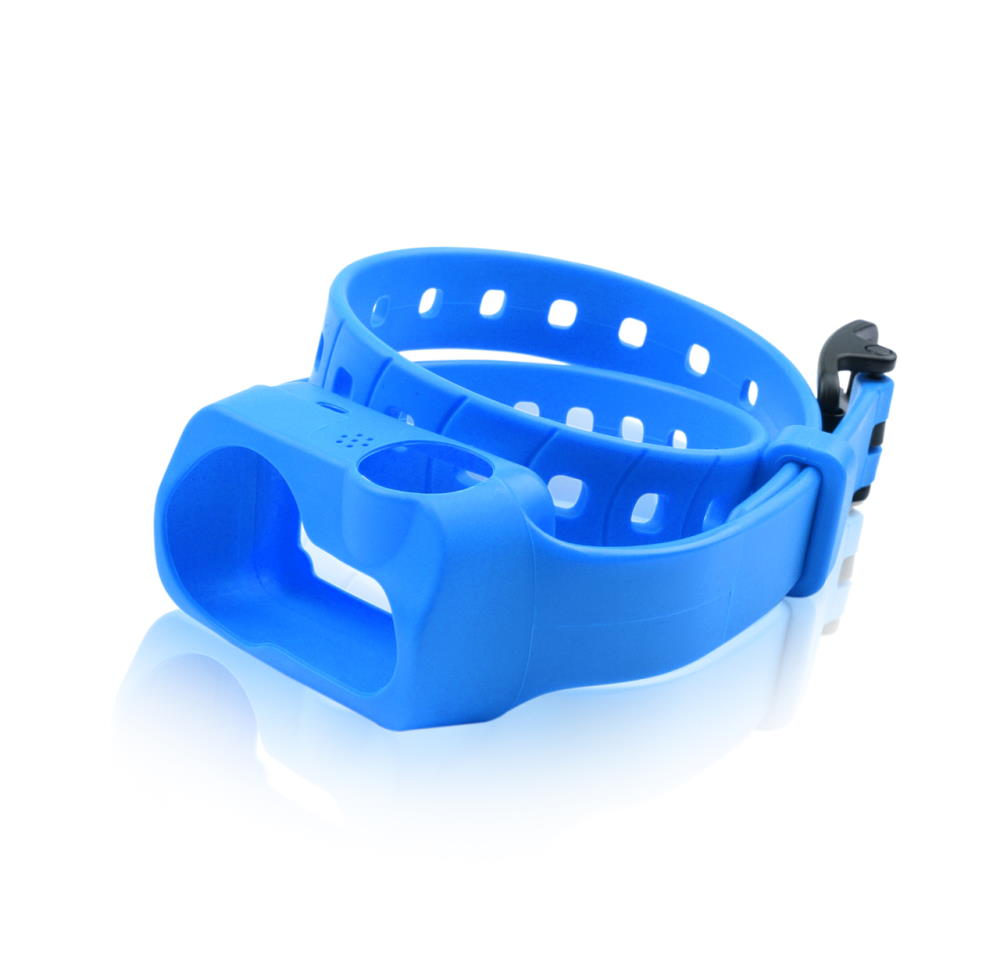 iQ No Bark Blue Strap